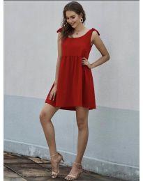 Φόρεμα - κώδ. 2255 - κόκκινο