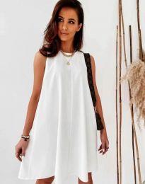 Φόρεμα - κώδ. 9862 - λευκό