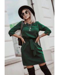 Φόρεμα - κώδ. 6100 - πράσινο