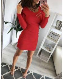 Φόρεμα - κώδ. 3298 - κόκκινο