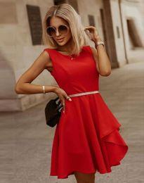 Φόρεμα - κώδ. 8917 - κόκκινο