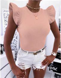 Κοντομάνικο μπλουζάκι - κώδ. 531 - ροζ