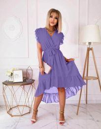 Φόρεμα - κώδ. 8934 - 4 - μωβ