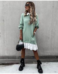 Φόρεμα - κώδ. 5516 - μέντα