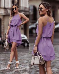 Φόρεμα - κώδ. 2104 - μωβ