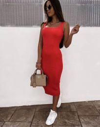 Φόρεμα - κώδ. 5964 - κόκκινο