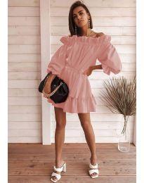 Φόρεμα - κώδ. 3386 - πούδρα