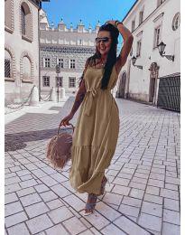 Φόρεμα - κώδ. 1230 - μπεζ