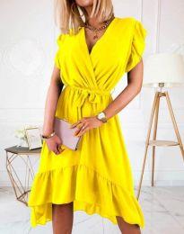 Φόρεμα - κώδ. 8934 - 2 - κίτρινο