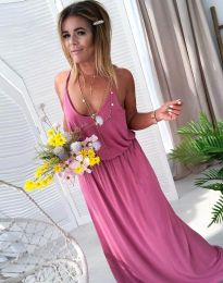 Φόρεμα - κώδ. 11993 - πούδρα