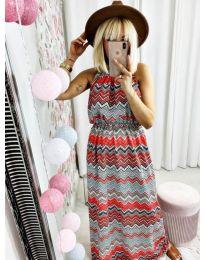 Φόρεμα - κώδ. 9856 - πολύχρωμο