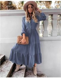 Φόρεμα - κώδ. 5150 - μπλε