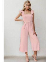 Ολόσωμη φόρμα - κώδ. 4455 - ροζ