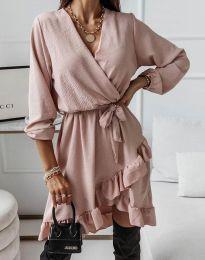 Φόρεμα - κώδ. 5371 - πούδρα