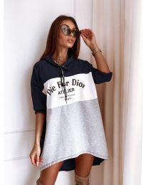 Φόρεμα - κώδ. 9090-2 - πολύχρωμο