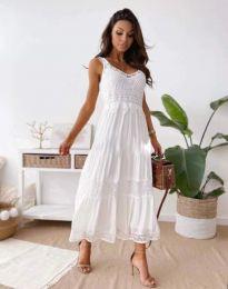 Φόρεμα - κώδ. 4672 - λευκό