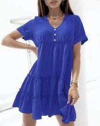 Φόρεμα - κώδ. 7205 - μπλε