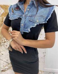 Φόρεμα - κώδ. 2473 - 2 - μαύρο