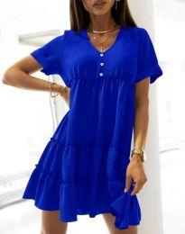 Φόρεμα - κώδ. 7205 - σκούρο μπλε