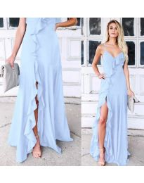 Φόρεμα - κώδ. 4488 - μπλε