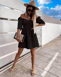 Φόρεμα - κώδ. 7413 - μαύρο