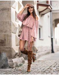 Φόρεμα - κώδ. 324 - πούδρα
