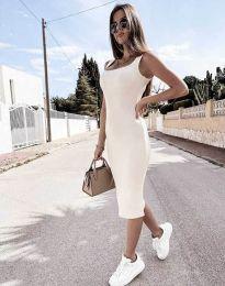 Φόρεμα - κώδ. 5964 - λευκό