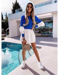 Φόρεμα - κώδ. 5024 - 4 - σκούρο μπλε