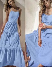 Φόρεμα - κώδ. 2991 - γαλάζιο