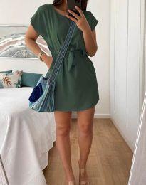 Φόρεμα - κώδ. 2258 - λαδί