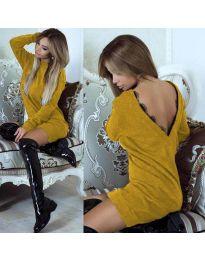 Φόρεμα - κώδ. 0502 - μουσταρδί