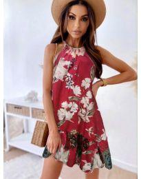 Φόρεμα - κώδ. 7027 - κόκκινο