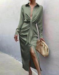 Φόρεμα - κώδ. 6459 - πράσινο