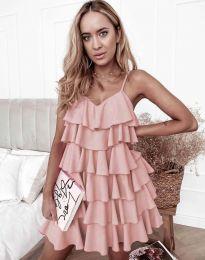 Φόρεμα - κώδ. 8190 - πούδρα