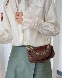Τσάντα - κώδ. B299 - καφέ