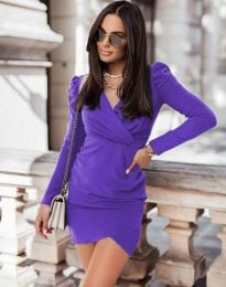 Φόρεμα - κώδ. 0951 - μωβ