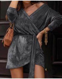 Φόρεμα - κώδ. 238 - σκούρο γκρι