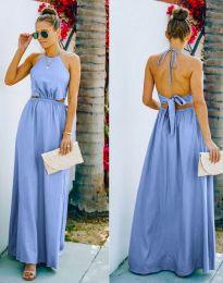 Φόρεμα - κώδ. 6121 - γαλάζιο