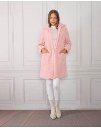 Παλτό - κώδ. 1615 - 2 - ροζ