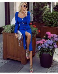 Φόρεμα - κώδ. 4418 - μπλε
