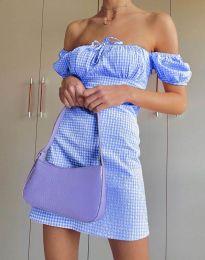 Φόρεμα - κώδ. 2594 - 3 - γαλάζιο