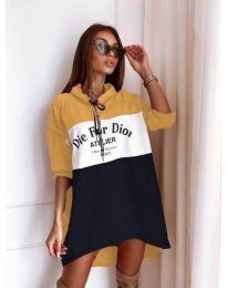 Φόρεμα - κώδ. 9090-7 - πολύχρωμο