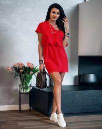 Φόρεμα - κώδ. 3214 - κόκκινο
