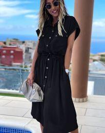 Φόρεμα - κώδ. 6344 - μαύρο
