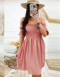 Φόρεμα - κώδ. 1409 - πούδρα