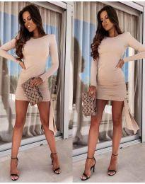 Φόρεμα - κώδ. 6515 - μπεζ