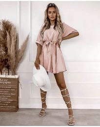 Φόρεμα - κώδ. 13131 - ροζ