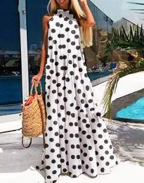 Φόρεμα - κώδ. 0288 - 2 - λευκό
