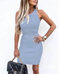 Φόρεμα - κώδ. 6331 - γαλάζιο