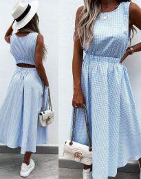 Φόρεμα - κώδ. 2687 - γαλάζιο
